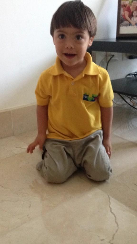 Felipe con 2.6 años